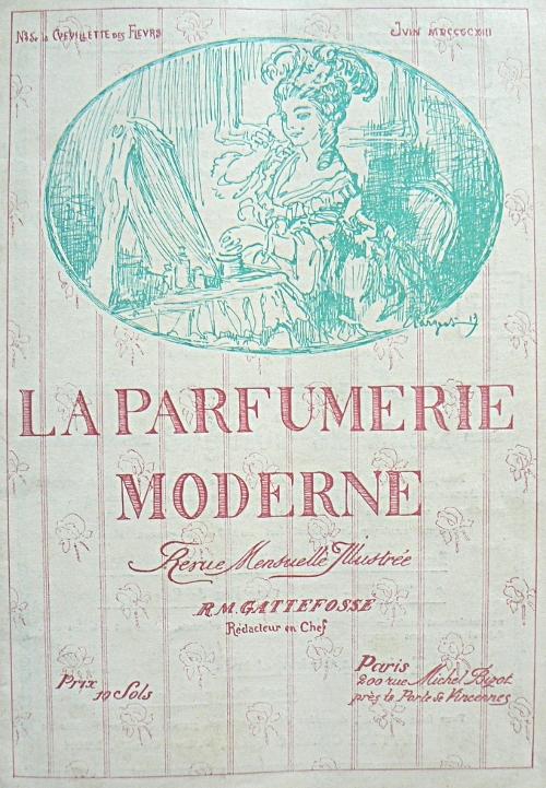 parfumerie moderne R. M. Gattefossé : laromathérapie cest lui!