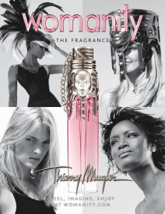 pub womanity mugler 231x300 [Concours] #1 : Womanity de Thierry Mugler   FERME