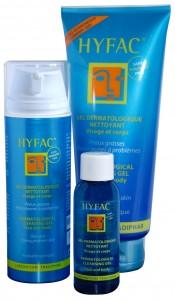 Hyfac gel nettoyant dermatologique 175x300 3 gels nettoyant au banc dessai