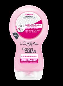 LOreal perfect clean crème moussante 220x300 3 gels nettoyant au banc dessai