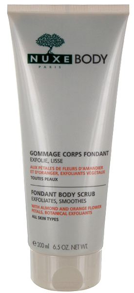 nuxe Gommage Corps Fondant NUXE Body : plaisir et efficacit 