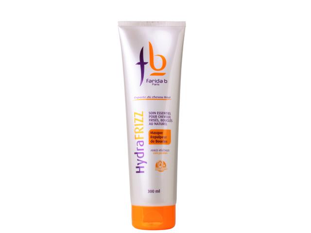 farida b hydrafrizz masque repulpeur de boucles HydraFrizz de Farida B : soins repulpeurs de boucles