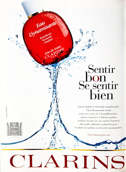 eau dynamisante clarins1 [Concours culte]#1: lEau Dynamisante de Clarins   FERME