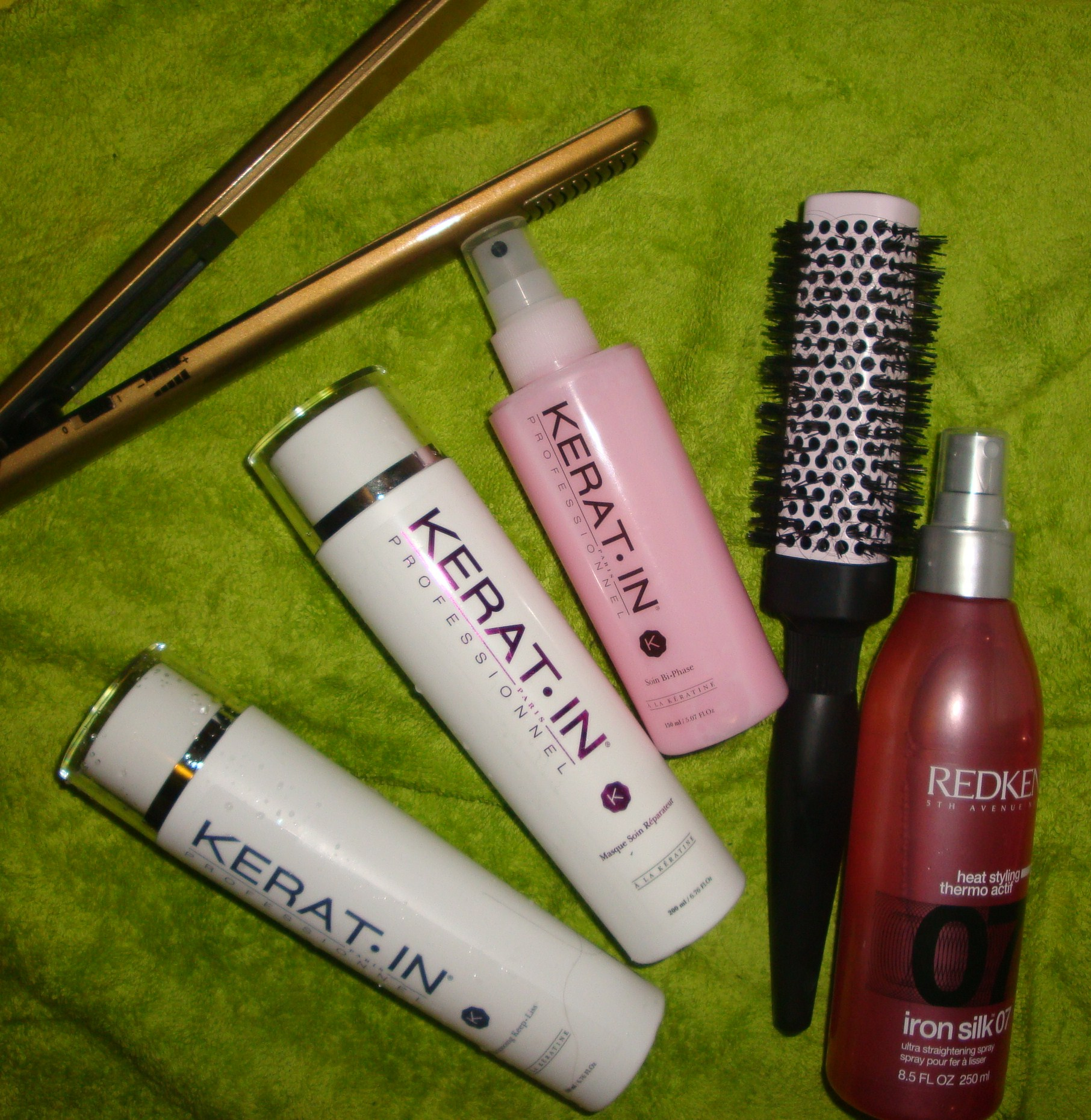 Des produits pro pour des cheveux lisses