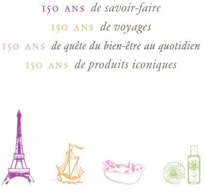 rogergallet 150 ans Roger & Gallet à 150 ans !!!