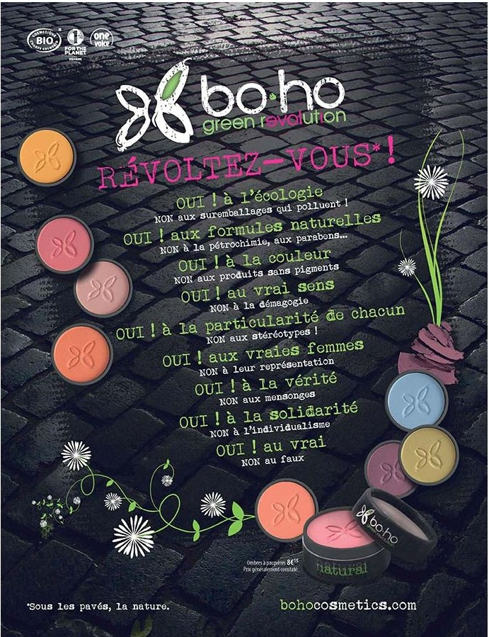 La Green révolution du Maquillage avec Boho +[Bon Plan]