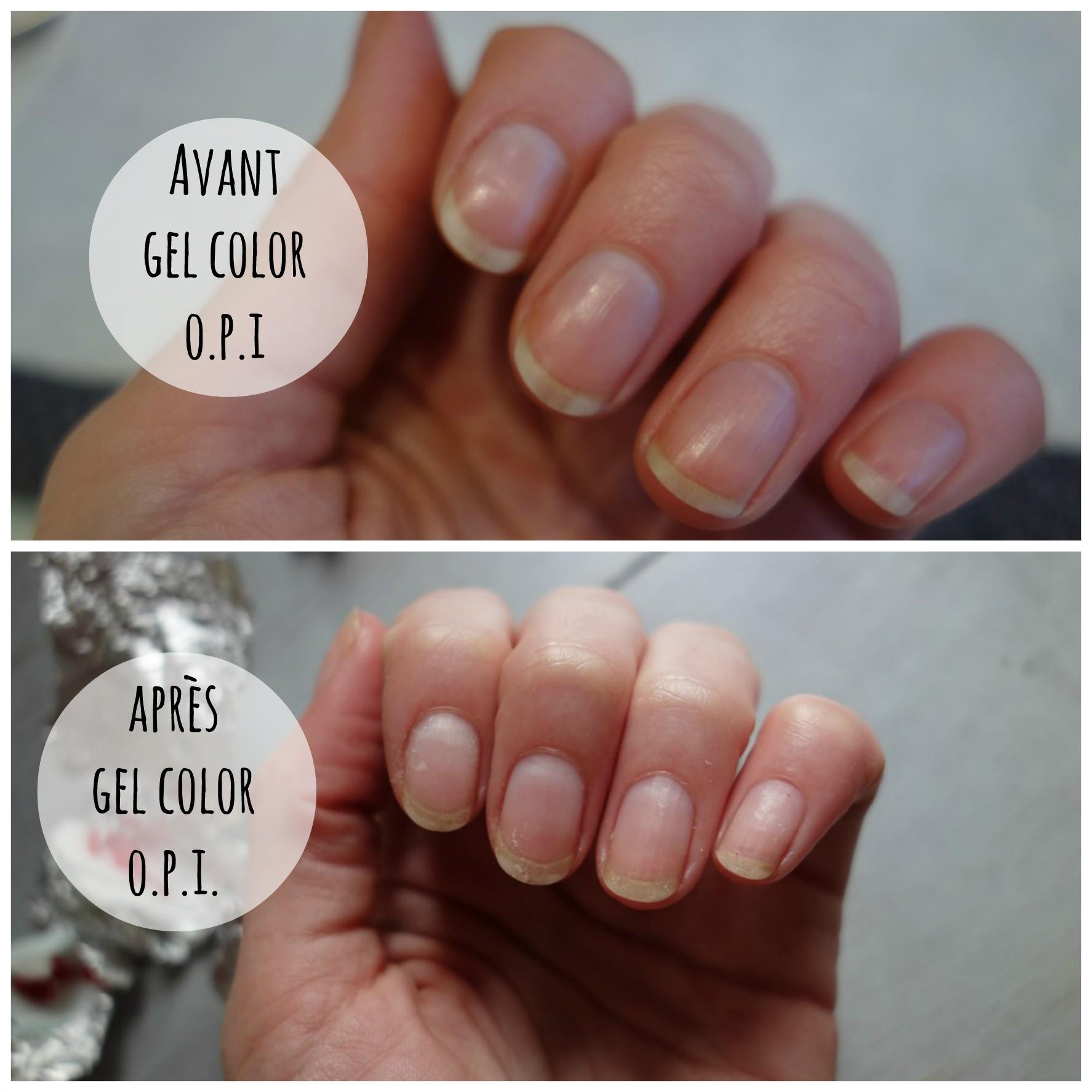 J'ai testé Gel Color, la manucure gel semi-permanente O.P