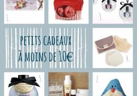 Noël : 7 idées de petits cadeaux beauté (à moins de 10€)
