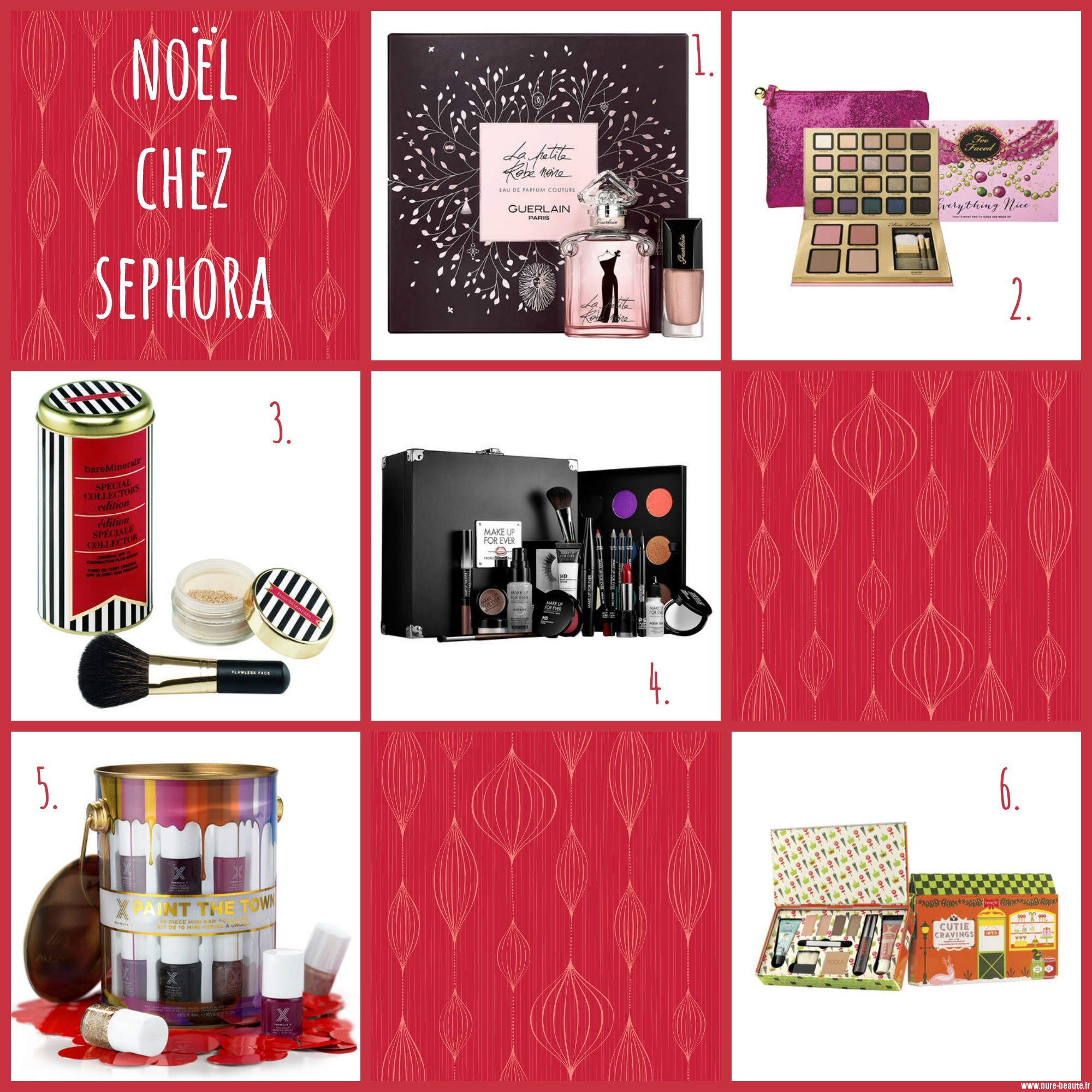 Mes cadeaux pr f r s chez sephora pure beaut - Mes cadeaux de noel ...