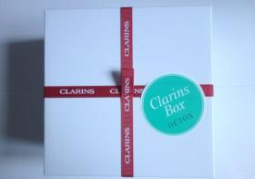 La Clarins Box Détox , la box beauté pour démarrer l'année du bon pied