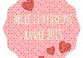 Belle et heureuse année 2015