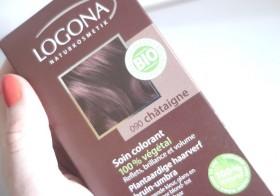 J'ai testé la coloration végétale Logona (Soin colorant 100% végétal 090 Châtaigne)