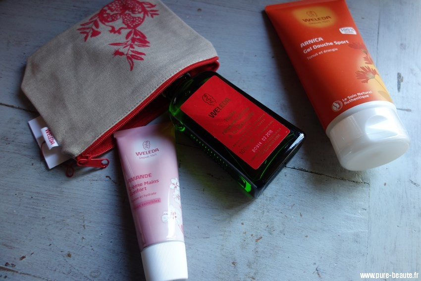 weleda organic cosmetics