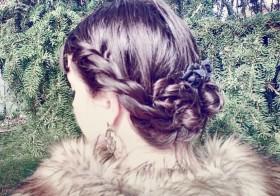 [Tuto coiffure]  le Chignon plein de torsades – facile