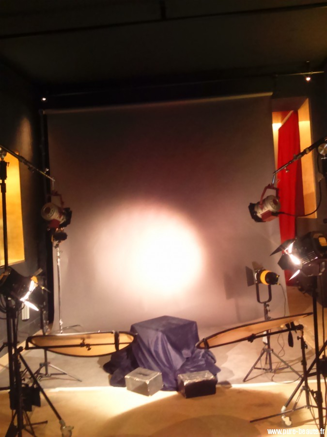 Studio Harcourt avec son éclairage