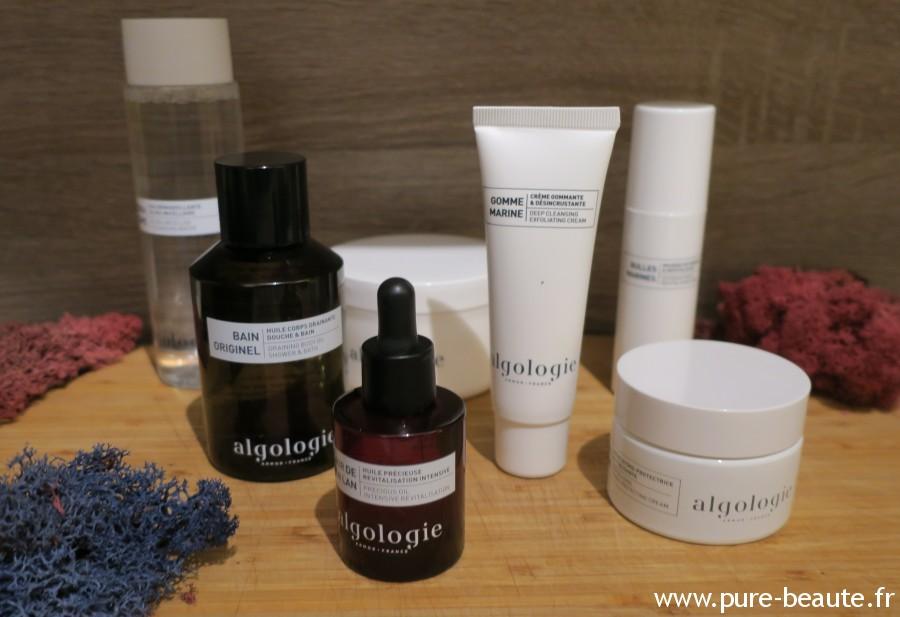 Algologie - Quelques produits