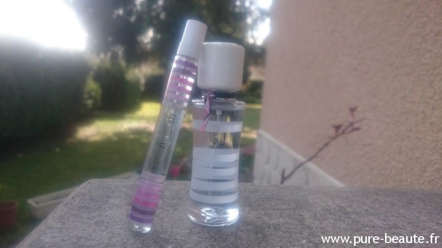 little marcel pulple love flacons 30ml et flacon voyage