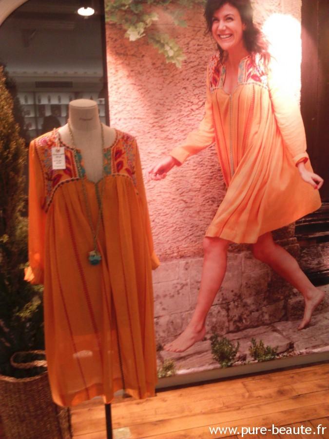 Fragonard - Robe orange