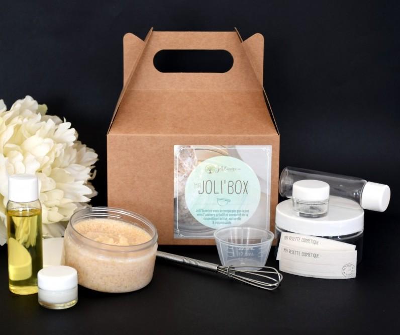 joli'box 3 soins cocon miel amande Joli'essence