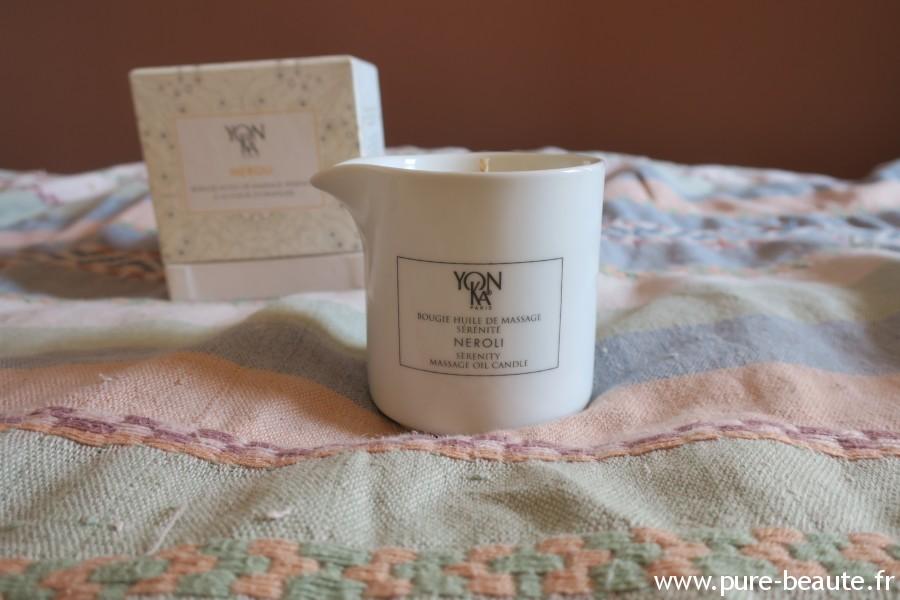 bougie huile de massage Yon-Ka Sérénité