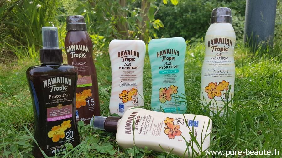 gamme Hawaiian Tropic