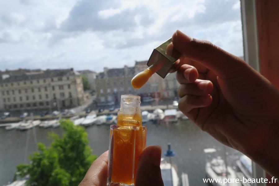 Huile Confort lèvres : 07 Honey Glam