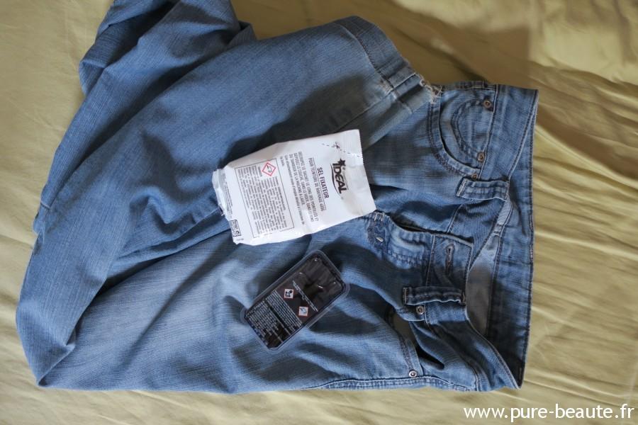 Teinture Idéal raviver un jean : les composants