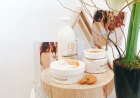La 1ère gamme The Body Shop pour peaux sensibles : Almond Milk & Honey