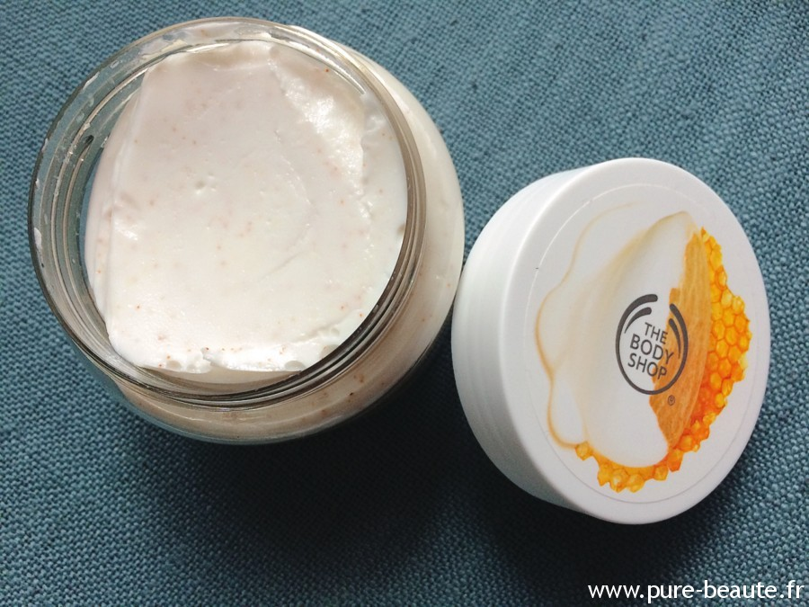 gommage creme miel amande the body shop