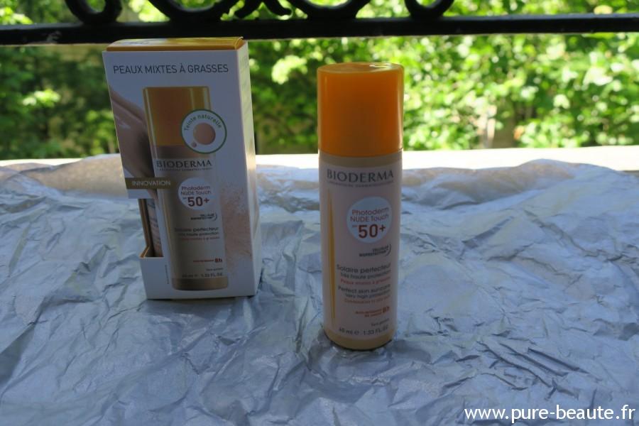 Bioderma Nude Touch 50spf produit