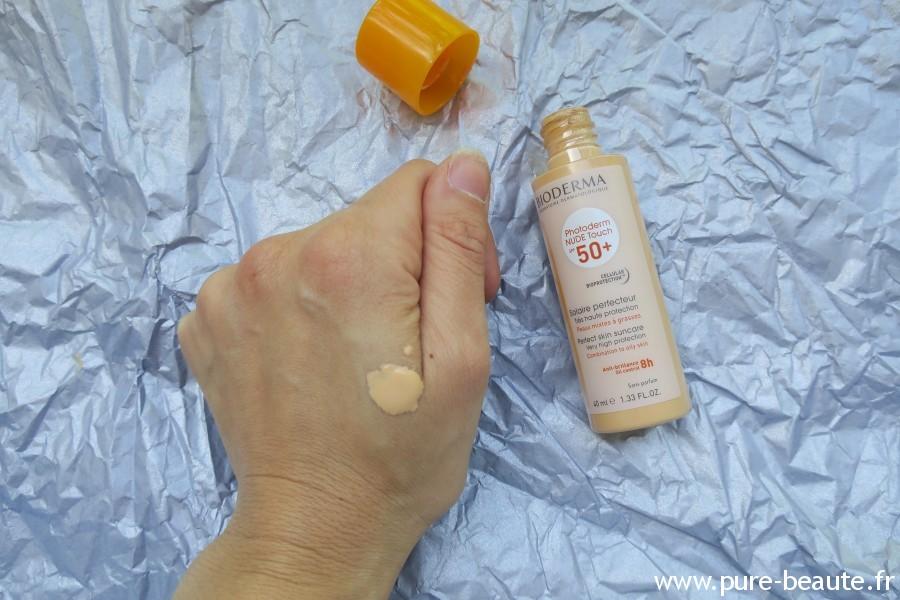 Bioderma Nude Touch 50 SPF+ Teinte naturelle