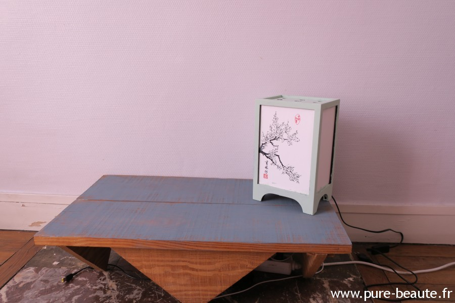 Liberon - Peinture meuble et lampe