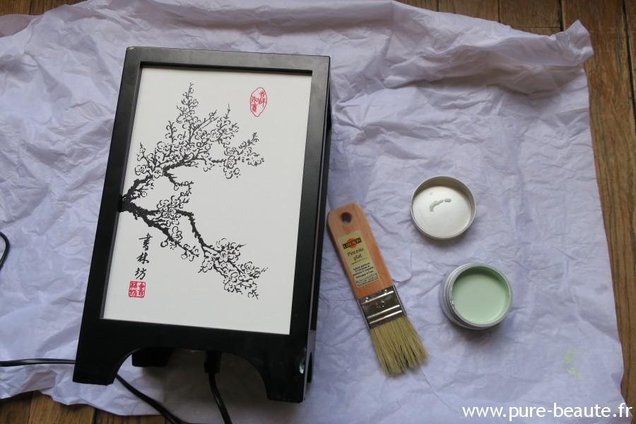 Liberon - Peinture lampe japonaise