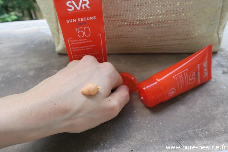 SVR Solaire - Sun secure Blur test