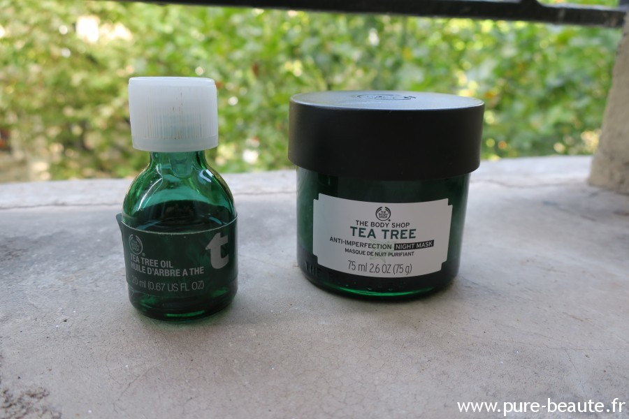 Masque de nuit purifiant tea tree