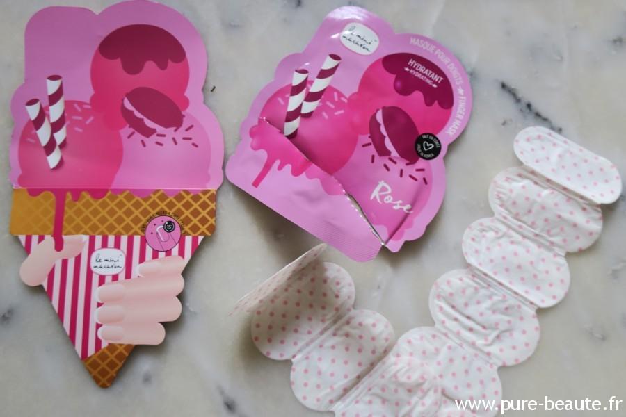 Masque doigts - Le mini Macaron Hydratant