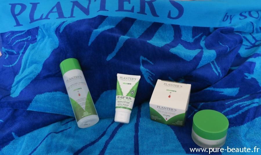 Planter's Produits gel d'Aloe Vera