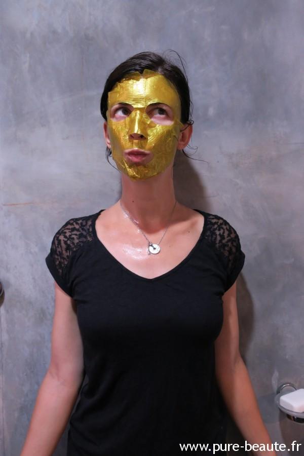 Qiriness - Wrap d'or, en pose !