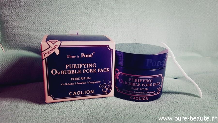 caolion anti pores dilatés