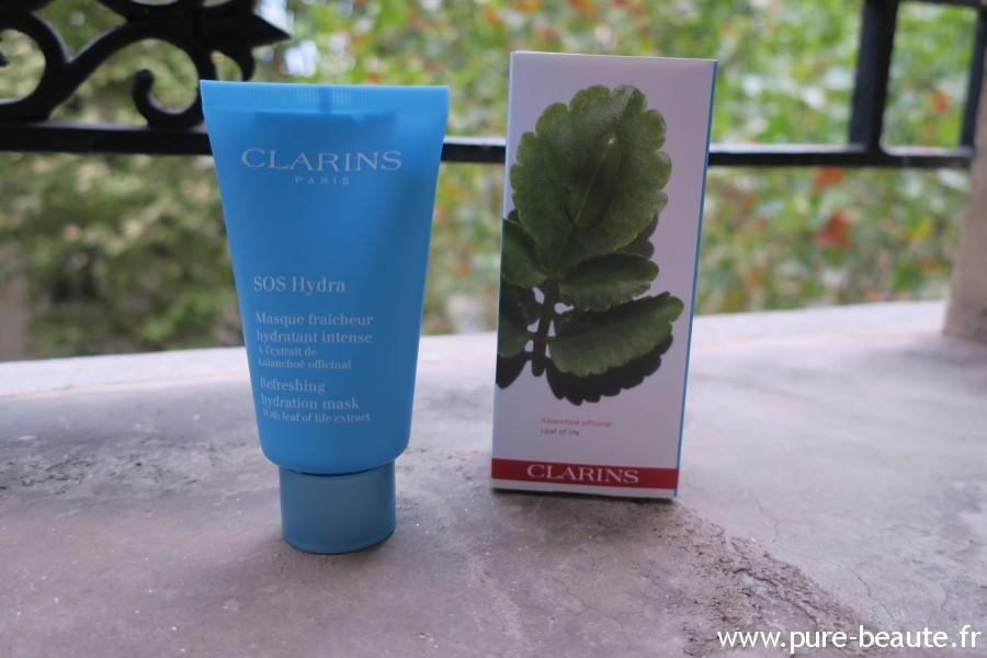Masque SOS Hydratation Clarins