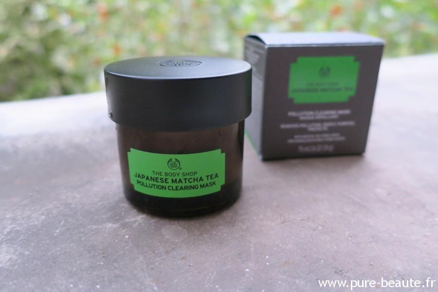 Masque anti-pollution Matcha