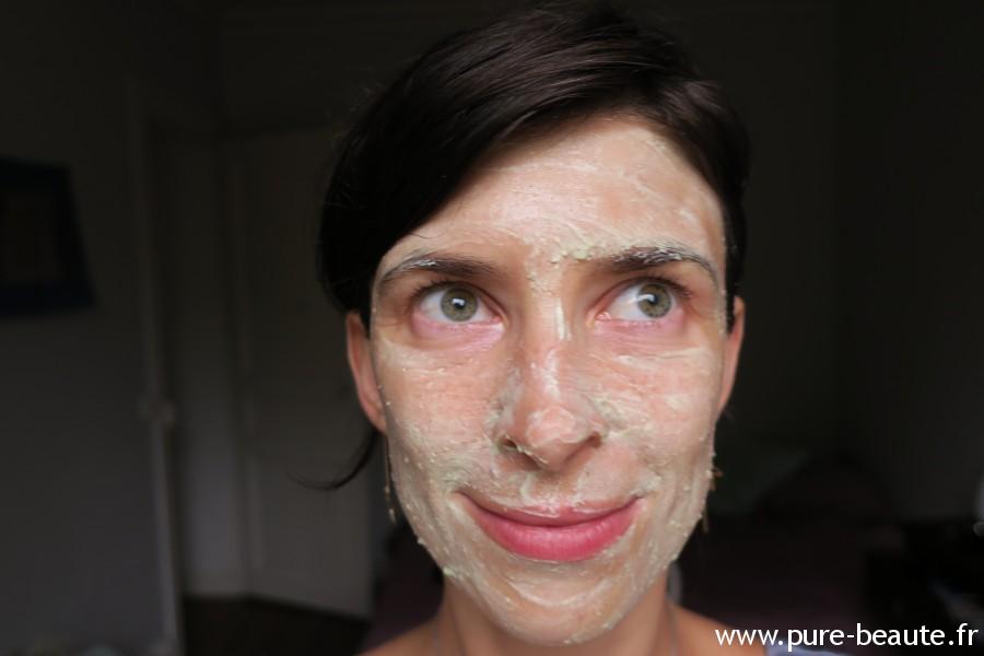 Masque anti-pollution Matcha Test