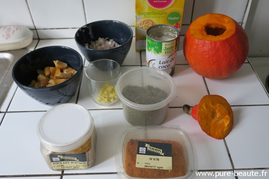 Citrouille party - recette Miam Miam