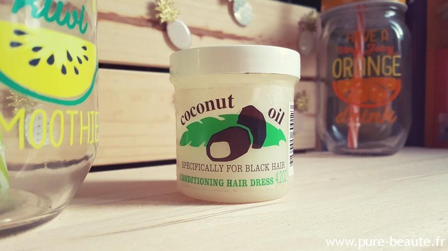 huile de noix de coco vierge