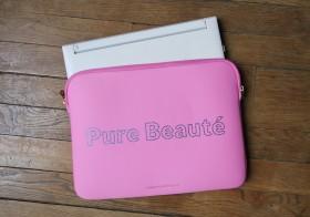 [Les dimanches de Pure-beauté] #79 : Ma housse de PC avec Mademoiselle Be.ez
