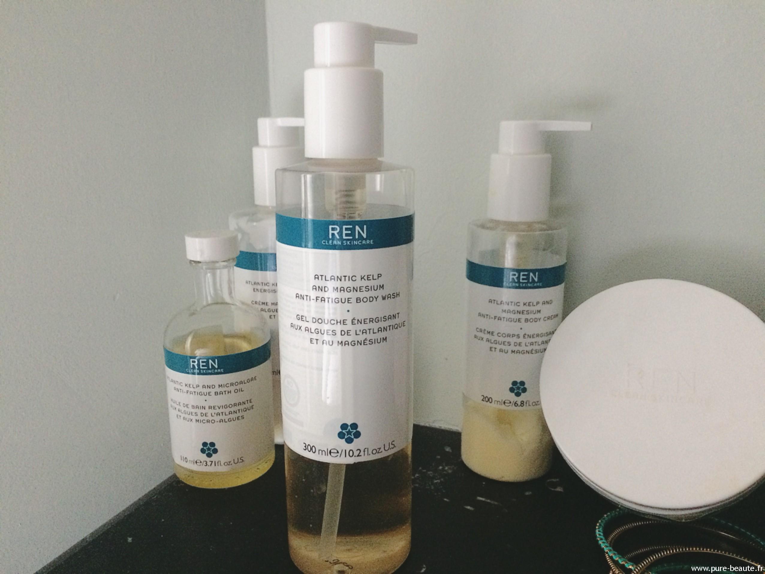 gel douche anti-fatigue aux micro algues et magnesium