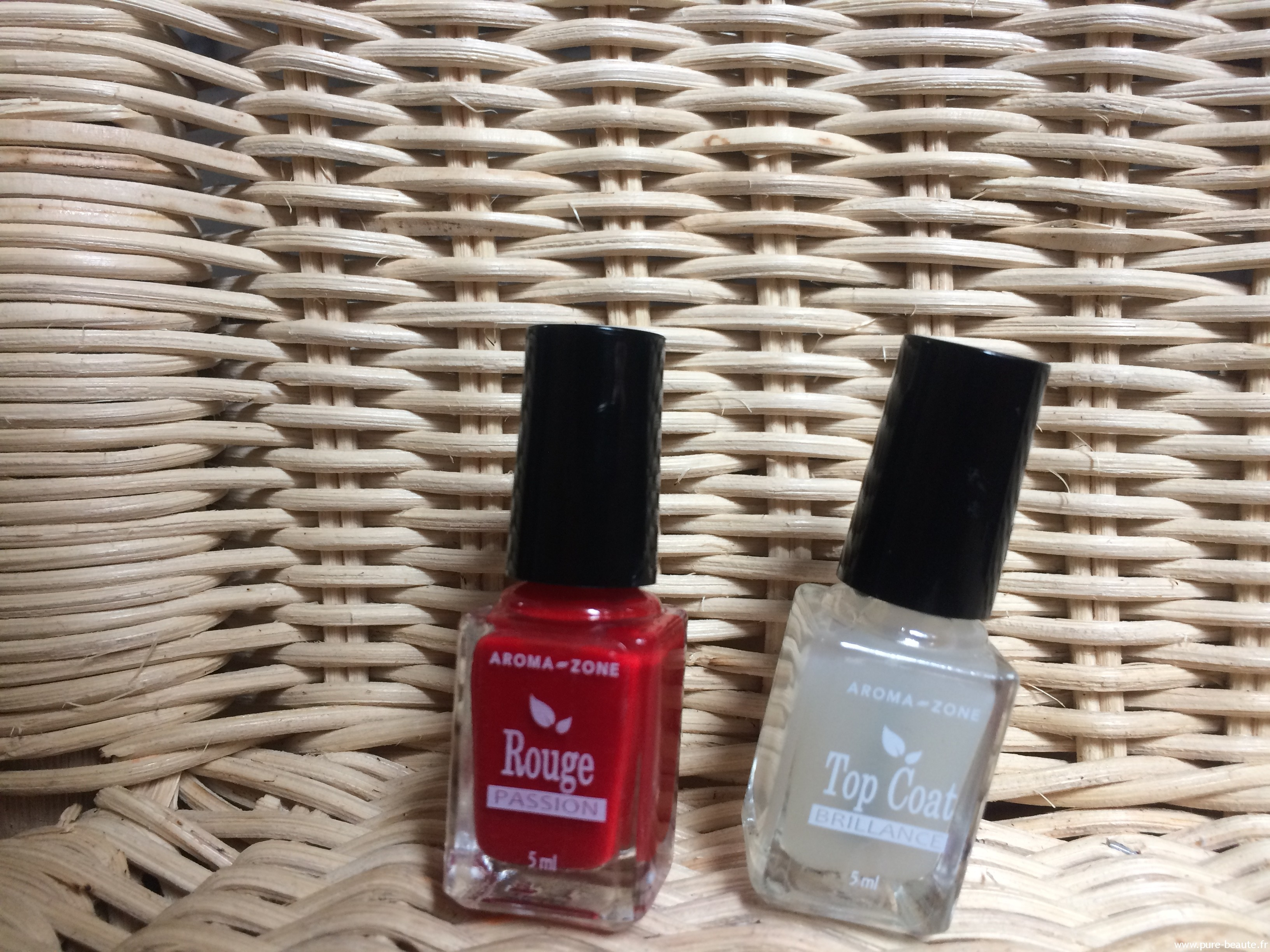 vernis 14 free aroma-zone couleur rouge passion