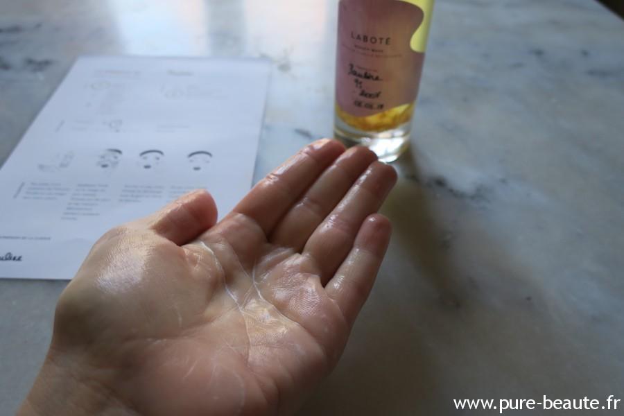 Laboté - L'huile se transforme en lait