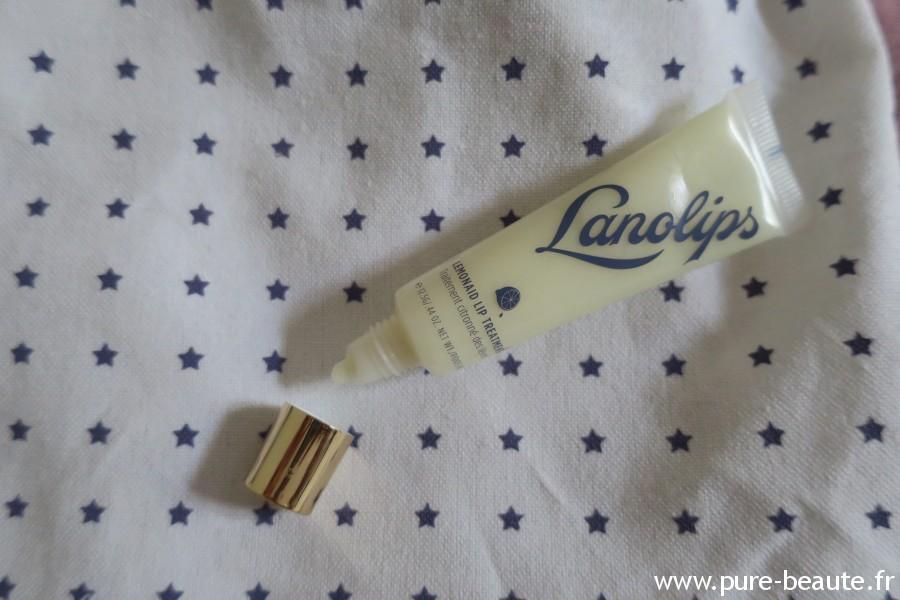 Lanolips - Super Baume lèvre citron ouvert