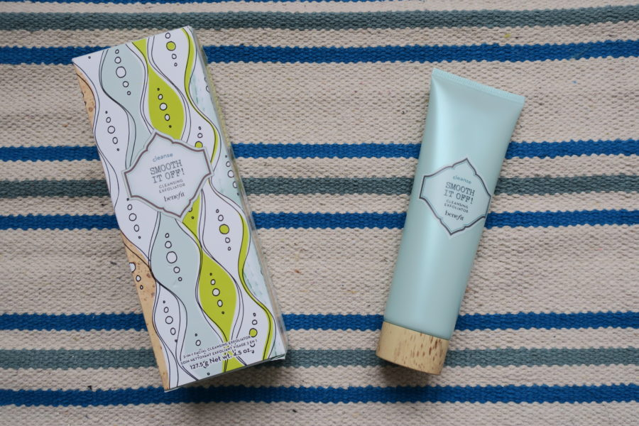 smooth it off démaquillant exfoliant